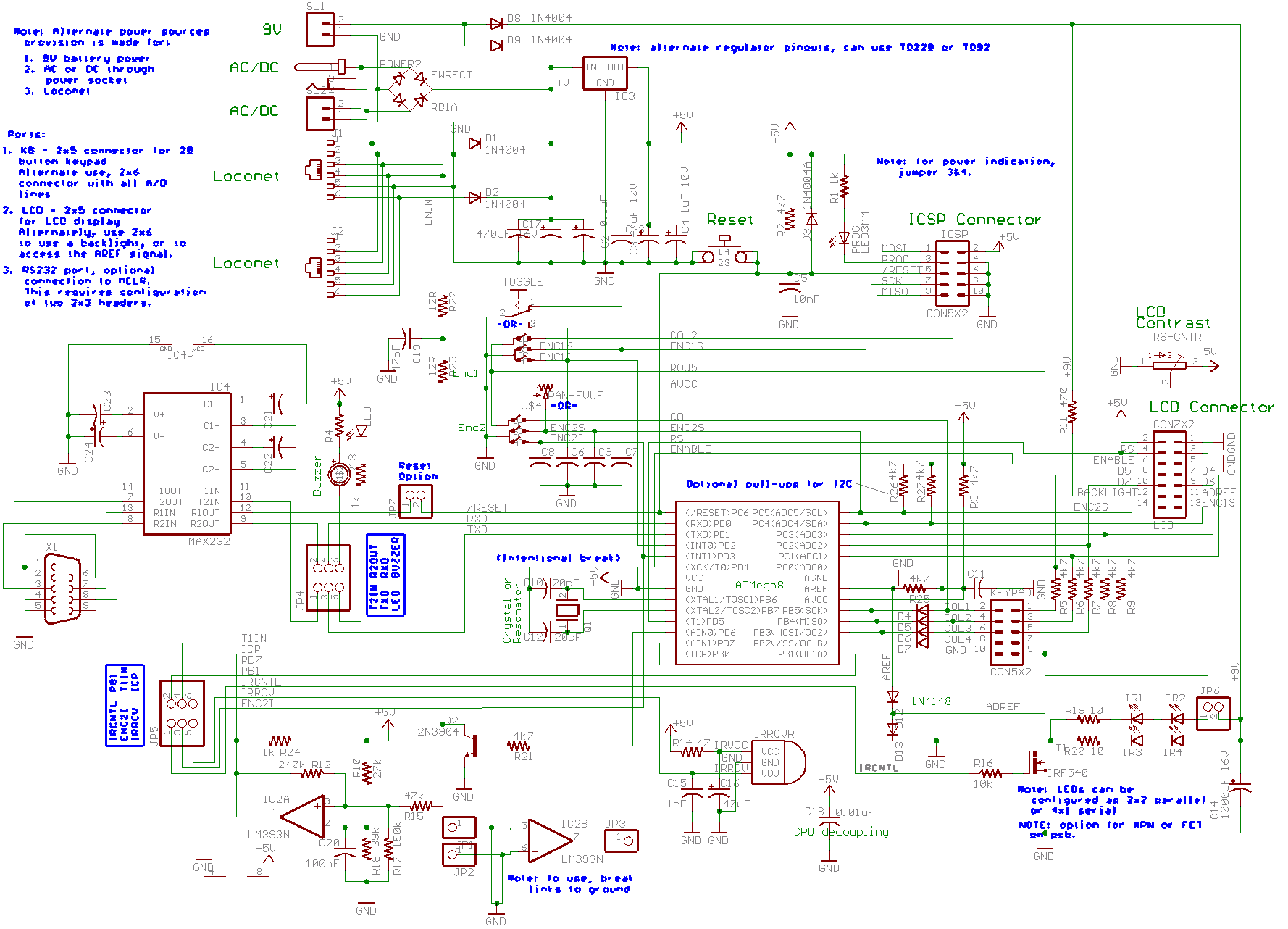 sma15 new dual acessory multifunctionl 17 channel configurable the schematic on the locodev board page will give you a sense of what hardware is required to interface to the loconet